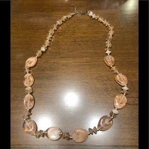 Accessories - Cute Marble stone necklace